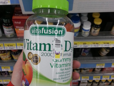 Min læge skal ikke være bekymret for om jeg får min D vitamin, det er jo bare vingummi!!!