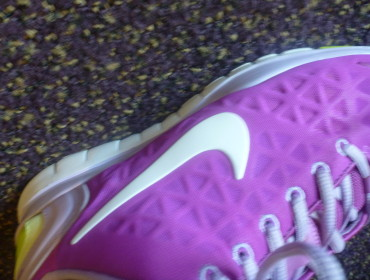 Mine lilla Nike Free, Mikaels har en farve som kermit ville misunde ham!