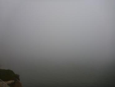 Det kan godt være en smule tåget om morgen, heldigvis klare det som regel op.