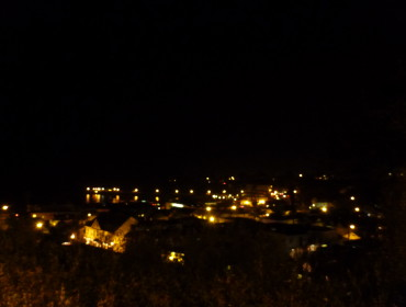 Udsigt over Capitola By Night