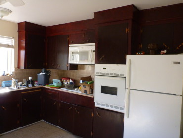 Vi ved godt køkkenet ikke er sådan rigtig Bo Bedre, men altså det er stort :)