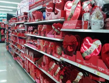 En brøkdel af Walmarts kærlighedshylder....