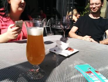 Kold belgiske øl, og masser af solskin.