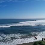 Surfere så langt øjet rækker. Der var mega mange surfere!