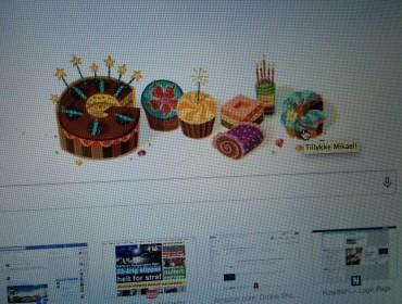 Gør google også det derhjemme, eller det fordi vi er blevet naboer?