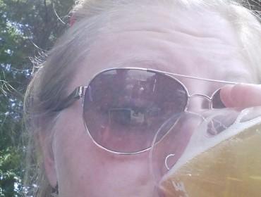 Øl og solskin, lækker kombi!