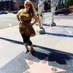 Begyndelsen af Walk of Fame