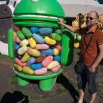 Ole på Google siger hej til  Jelly Bean Android