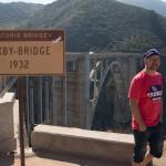 """Så kom vi til """"Indgangen"""" af Big Sur"""
