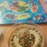 Hummus og brætspil!