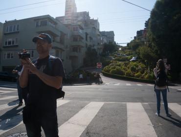 Lombards St, Ole filmer liiidt den forkerte vej
