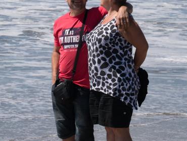 Strandtur i Half Moon Bay