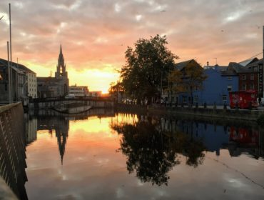 Lee River i Cork centrum