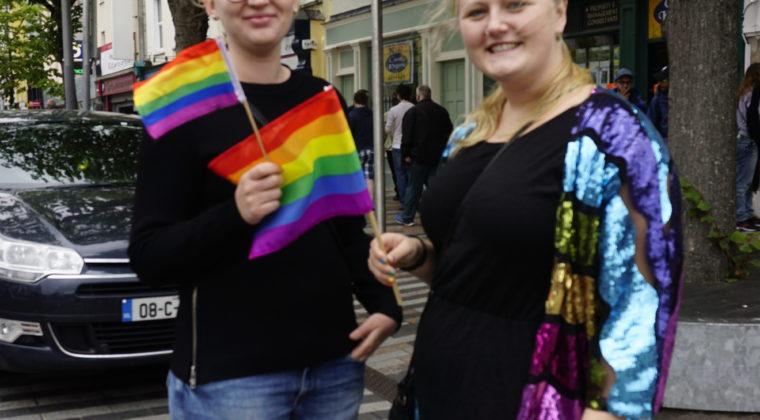 Sisse og jeg er klar til Pride