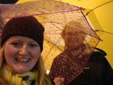 Regn, regn og regn. Det er rigtig det de siger om Portland!